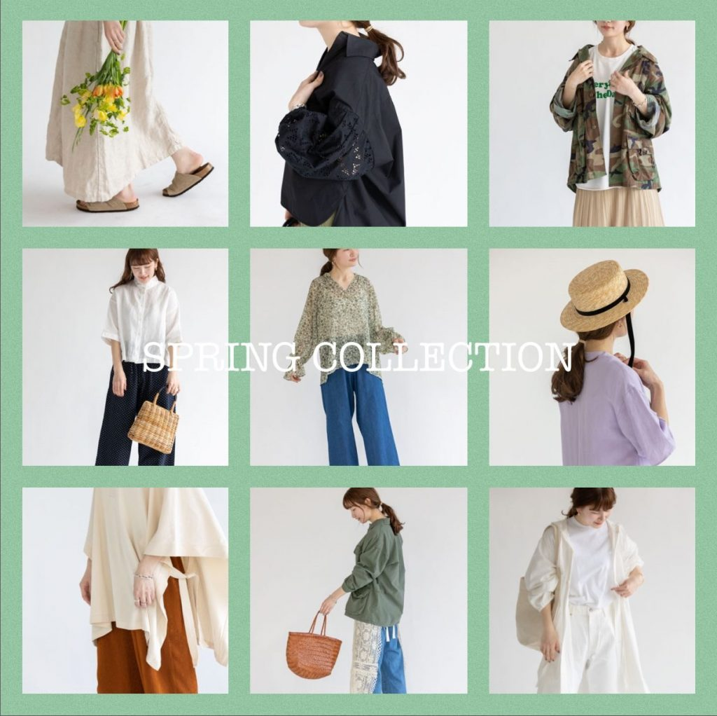 Spring Collection 開催中♪