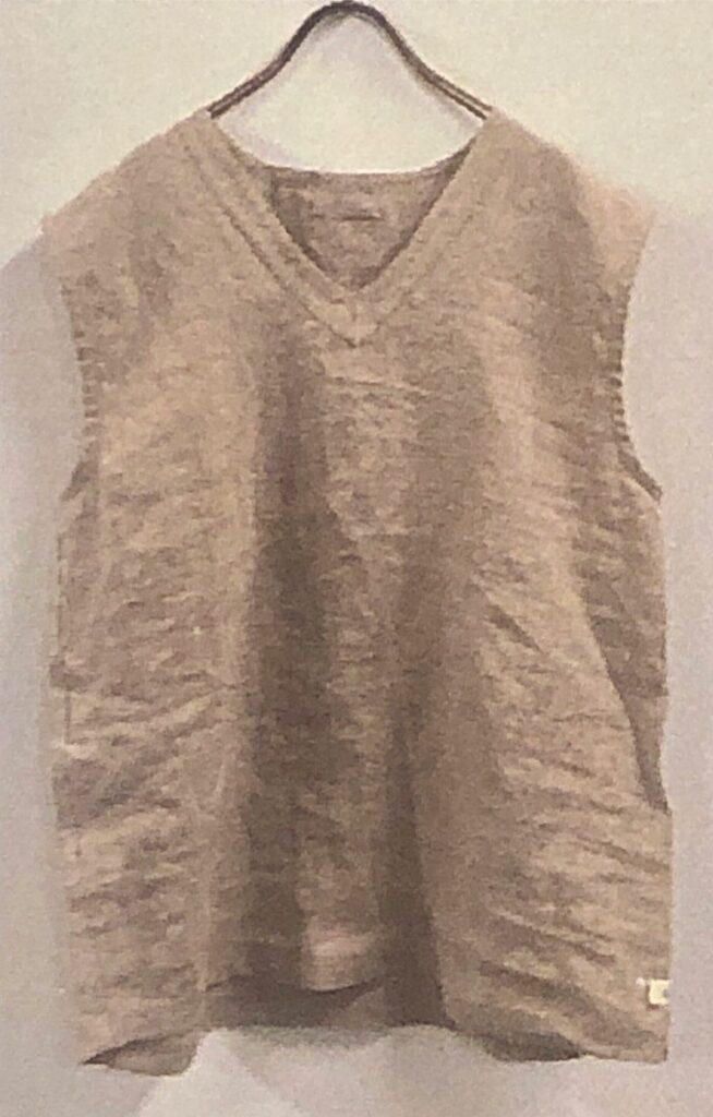 France  linen vest