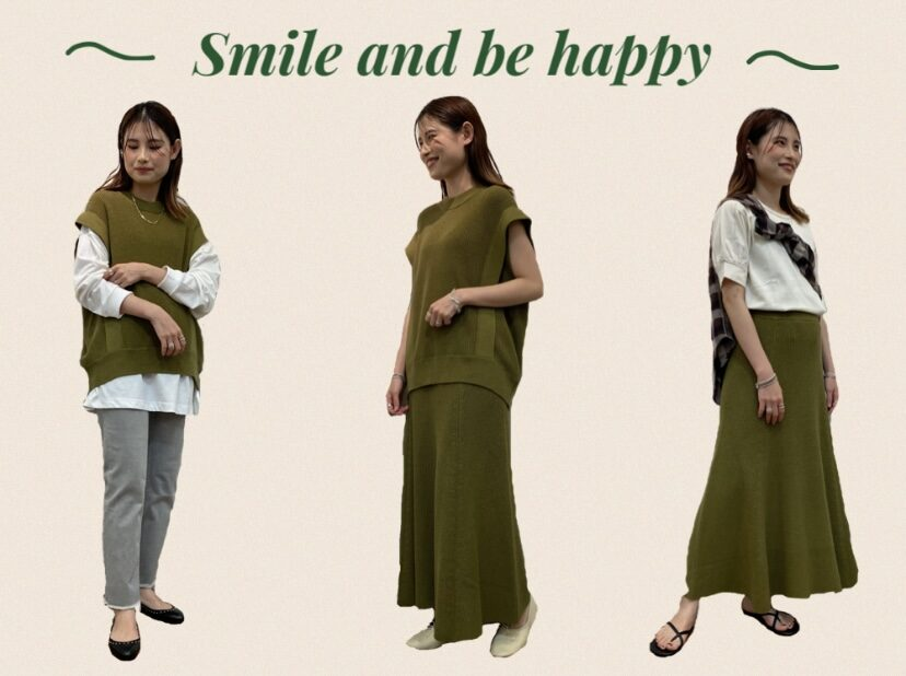 【Smile and be happy 】 より新作が入荷しました